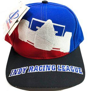 VINTAGE INDY Racing League One Size Hat Snapback